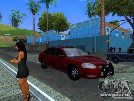 Chevrolet Impala Unmarked pour GTA San Andreas