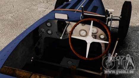 Bugatti Type 51 für GTA 4 Rückansicht