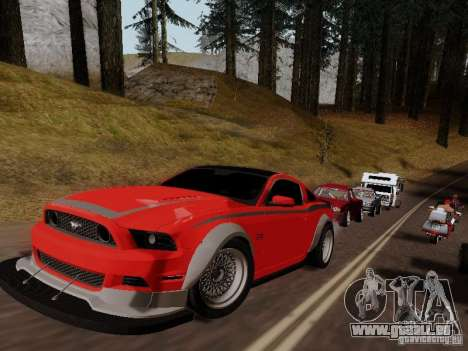 Ford Mustang RTR Spec 3 für GTA San Andreas