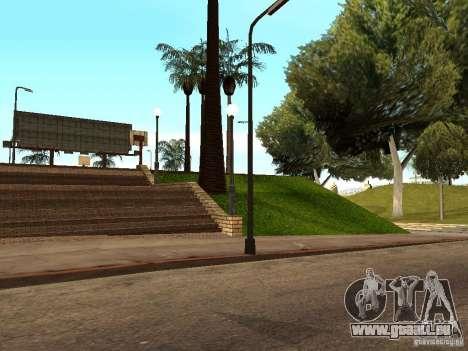 Le nouveau terrain de basket à Los Santos pour GTA San Andreas sixième écran