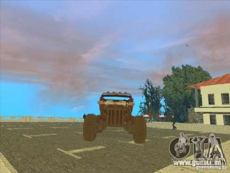 Wingy Dinghy v1.1 pour GTA San Andreas laissé vue