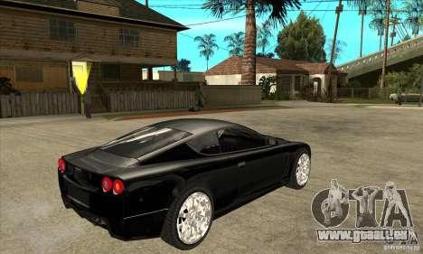 GTA IV SuperGT pour GTA San Andreas vue de droite