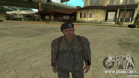 Shepard von CoD MW2 für GTA San Andreas