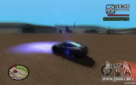 ENBSeries By Gasilovo pour GTA San Andreas huitième écran