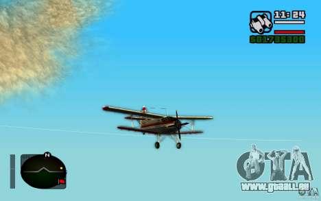 Antonow an-2 für GTA San Andreas