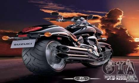 Laden-Bildschirme und Menüs im Stil von Motorrad für GTA San Andreas