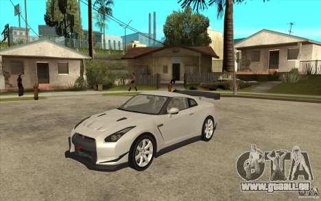 Nissan GT R Shift 2 Edition für GTA San Andreas