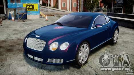 Bentley Continental GT v2.0 pour GTA 4