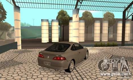 Acura RSX New für GTA San Andreas zurück linke Ansicht