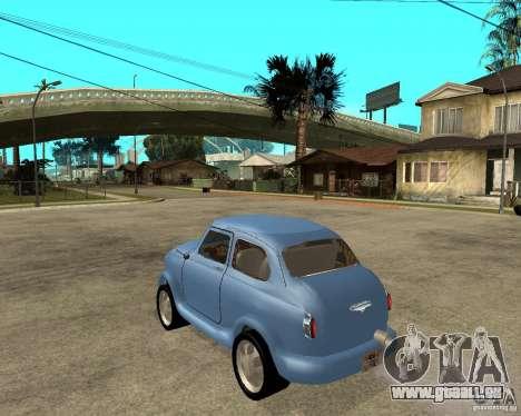 ZAZ 965 Zaporozhets HotRod für GTA San Andreas linke Ansicht