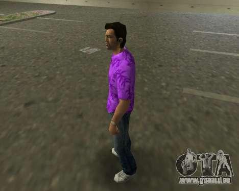 Chemise violette GTA Vice City pour la deuxième capture d'écran