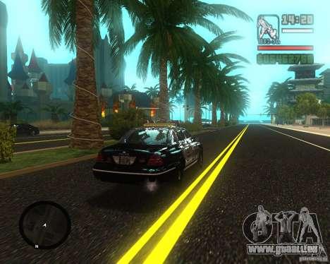 Real palms v2.0 pour GTA San Andreas deuxième écran