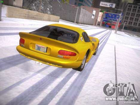 Dodge Viper 1996 für GTA San Andreas linke Ansicht