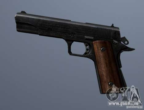 M1911 für GTA San Andreas dritten Screenshot