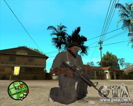 M4 Carbine für GTA San Andreas