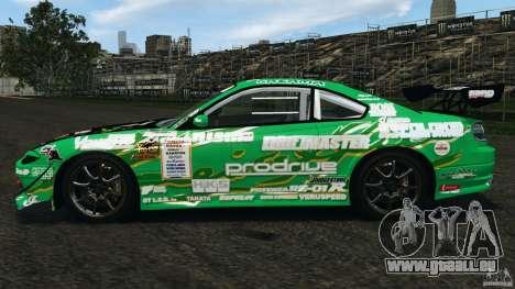 Nissan Silvia KeiOffice für GTA 4 linke Ansicht