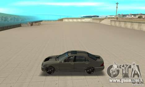Mercedes Benz AMG S65 DUB für GTA San Andreas linke Ansicht