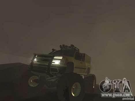 Chevrolet Colorado Monster pour GTA San Andreas vue de droite