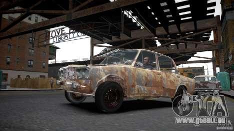 VAZ 2106 Rusty pour GTA 4