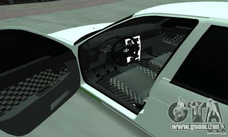 Lada Priora Low pour GTA San Andreas vue de côté