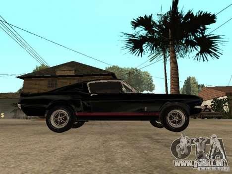 Shelby Mustang GT 500 für GTA San Andreas linke Ansicht