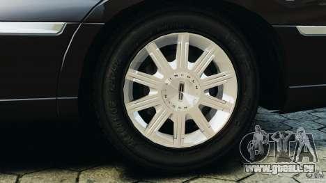 Lincoln Town Car 2006 v1.0 pour GTA 4 est une vue de dessous