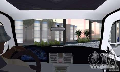 Volkswagen Jetta FnF pour GTA San Andreas vue arrière