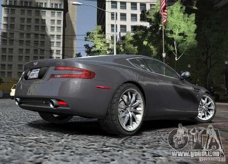 Aston Martin DB9 2008 v 1.0 für GTA 4 Seitenansicht