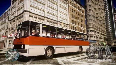 IKARUS 260 pour GTA 4 Vue arrière de la gauche