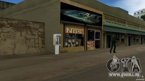 Der 2 Fast 2 Furious Shop pour GTA Vice City