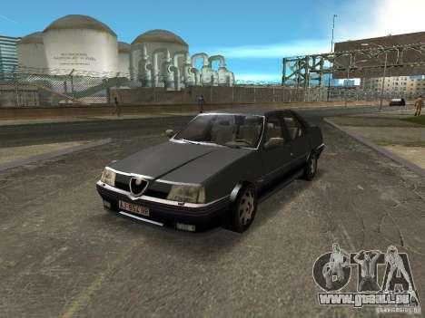 Alfa Romeo 164 pour une vue GTA Vice City de la droite