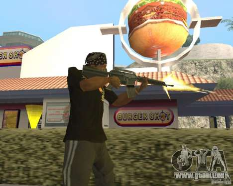 Brandstifter Munition für GTA San Andreas