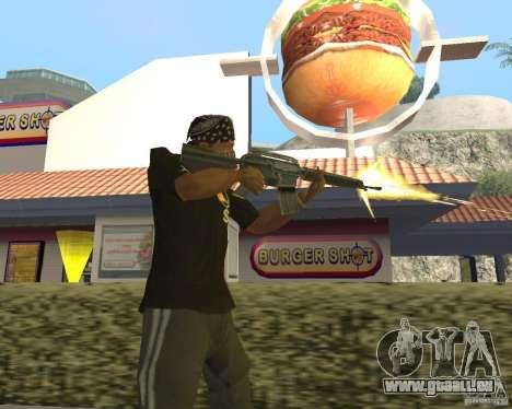 Munitions incendiaires pour GTA San Andreas