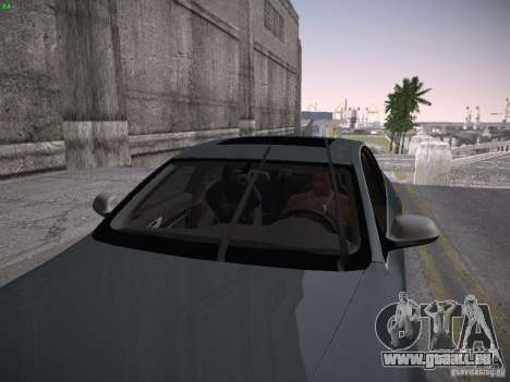 Audi RS6 2009 für GTA San Andreas Rückansicht