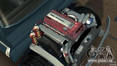 Ford F-650 XLT Superduty für GTA 4 Rückansicht