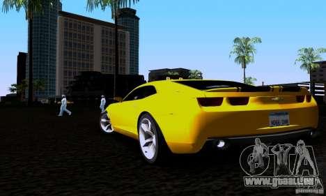 Chevrolet Camaro für GTA San Andreas linke Ansicht