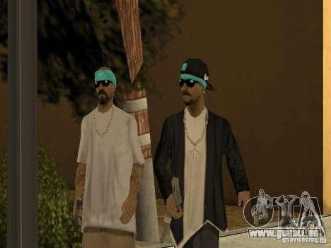 Standardmodelle Aztecas für GTA San Andreas zweiten Screenshot