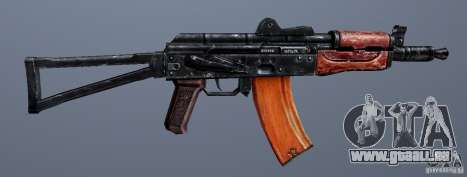 AKS74U pour GTA San Andreas quatrième écran