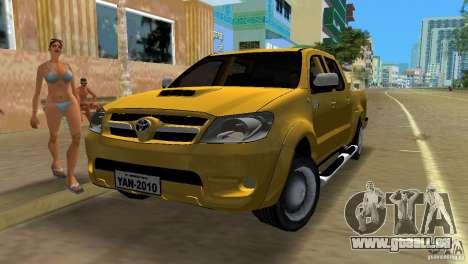 Toyota Hilux SRV 4x4 für GTA Vice City