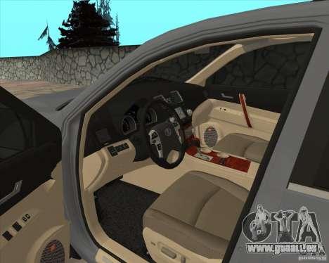 Toyota Highlander pour GTA San Andreas vue de côté