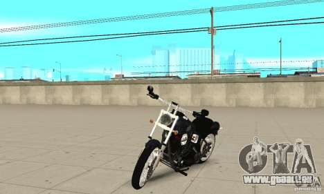 Harley Davidson FXSTBi Night Train für GTA San Andreas