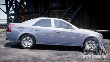 Cadillac CTS pour GTA 4 est une gauche
