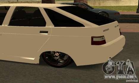VAZ-2112 voiture Tuning pour GTA San Andreas vue arrière