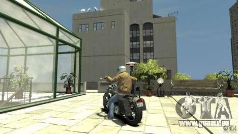 Zombie Bike Paintjob pour GTA 4 Vue arrière de la gauche