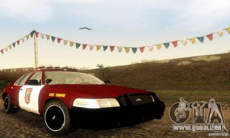 Ford Crown Victoria Minnesota Police pour GTA San Andreas
