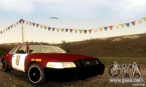 Ford Crown Victoria Minnesota Police für GTA San Andreas