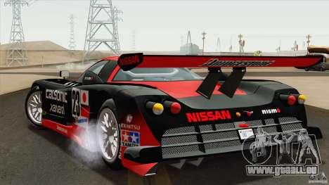 Nissan R390 GT1 1998 v1.0.1 für GTA San Andreas rechten Ansicht