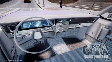 Chevrolet Impala Police 1983 v2.0 pour GTA 4 Vue arrière