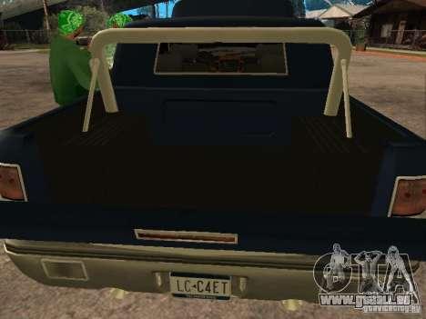 HD Columb pour GTA San Andreas vue arrière