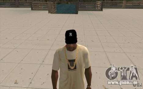 Cap newyorkyankiys noir pour GTA San Andreas deuxième écran